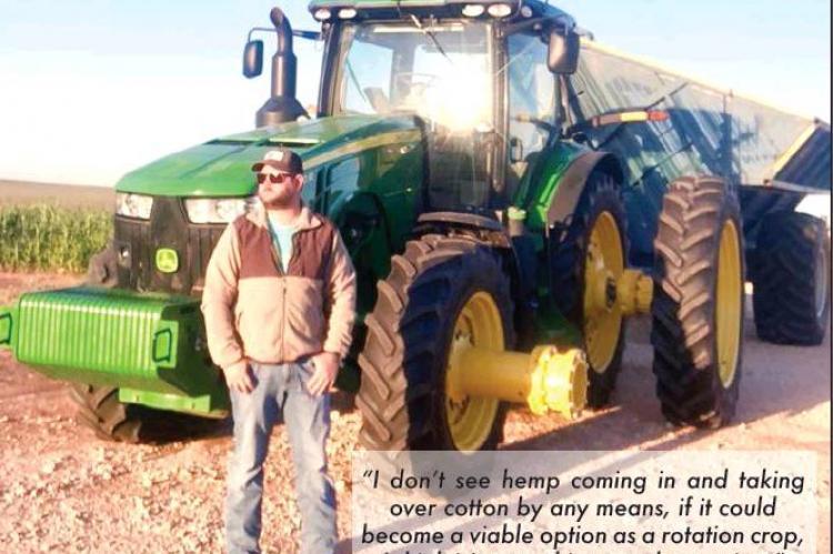 Farmers hoping hemp brings greener pastures