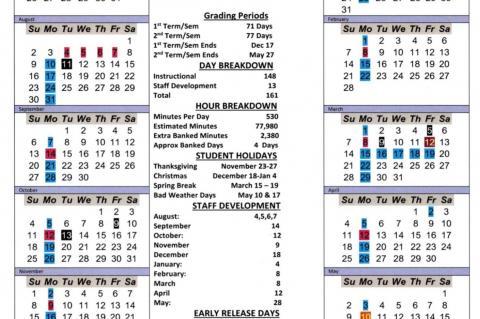 Alternative School Calendars Being Pushed