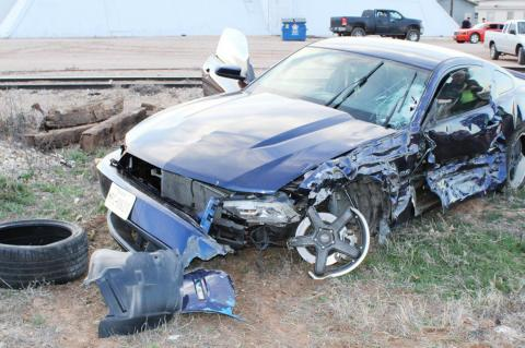 Meadow accident results in no injuries