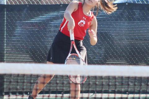 Brownfield tennis goes into playoffs as third seed