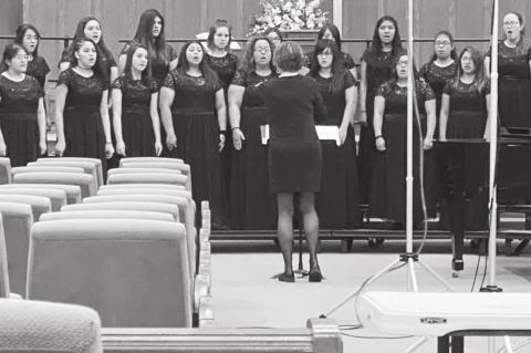 The Brownfield High School Choir
