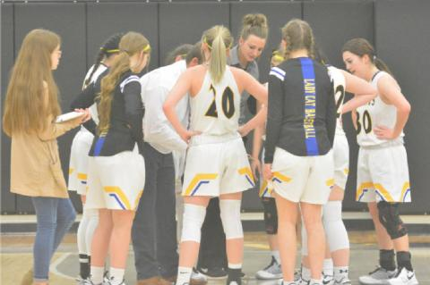 Lady 'Cats fall at home