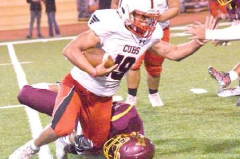 Cubs close district with win