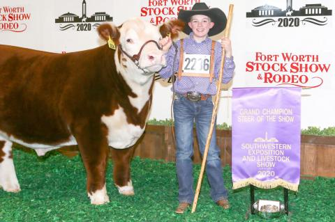 RYDER HAS HEYDAY at FW Stockshow