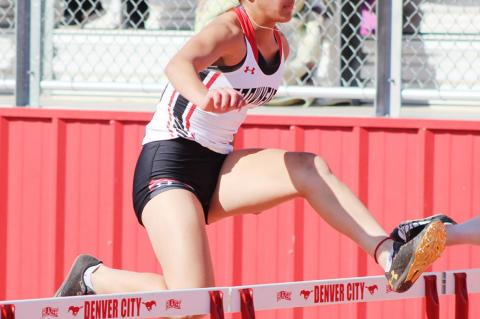 Brownfield track and field find success at district meet