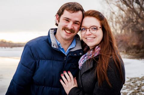 Lode & Anderson Wedding Announcement