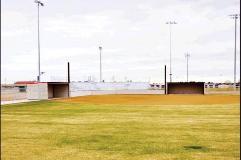 Lady Cubs softball field nearing completion