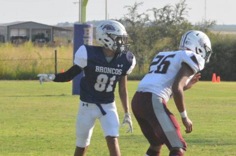 Meadow Broncos Sophomore Paul Franco