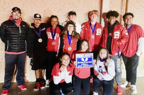 Brownfield Tennis wins at Reagan County Tournament Rich Hammons, Brownfield tennis coach