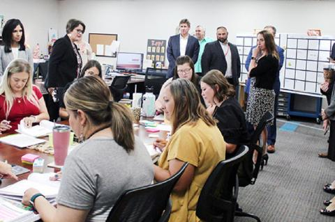 Brownfield ISD visited by TEA Officials
