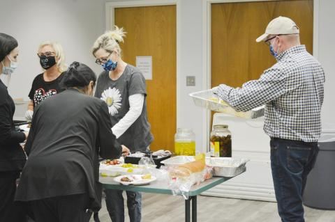 Terry County Ministerial Alliance feeds BRMC staff