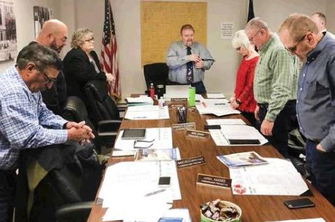 Commissioners have first meeting of the New Year