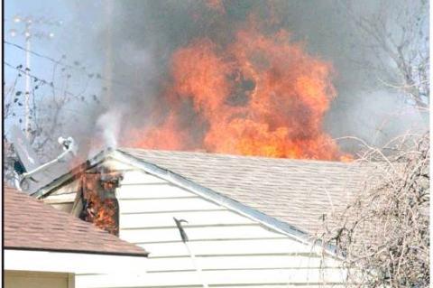 House Fire Heats up Yucca Street
