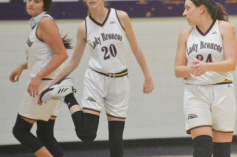 Lady Broncos offense struggles in return
