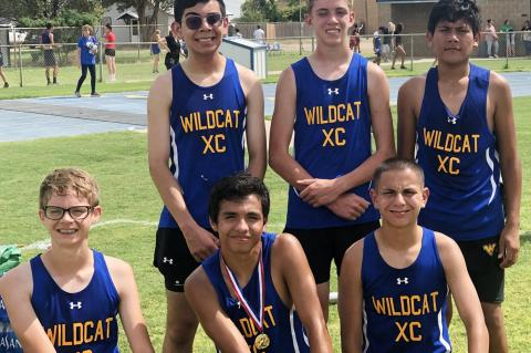 Wellman-Union boys cross country take first at Smyer Meet