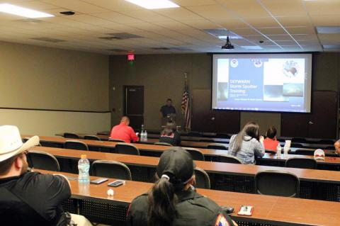 BPD host storm watch training for Terry County First Responders