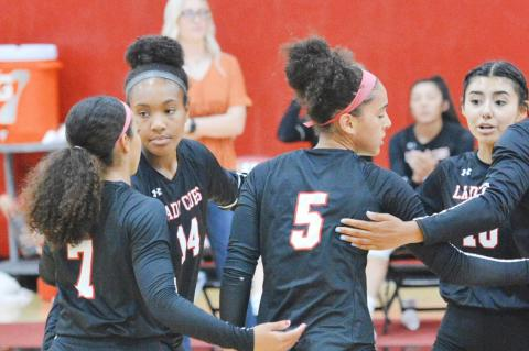 Lady Cubs volleyball defeats Pecos in four sets