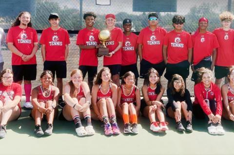 Tennis Bi-District Champs