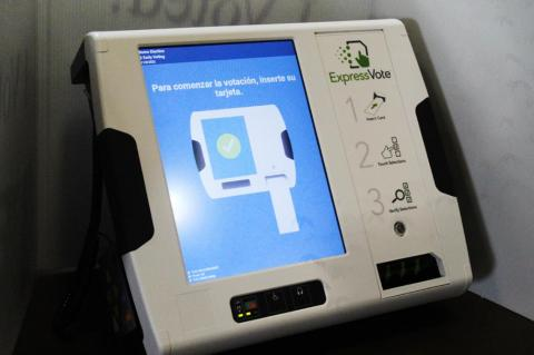 New voting machines are easy and safe to use