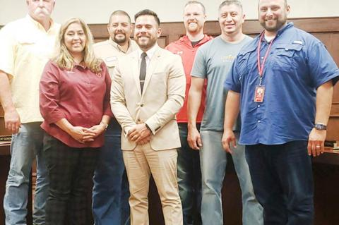 BISD swears in Edgar Rivera to fill vacant seat