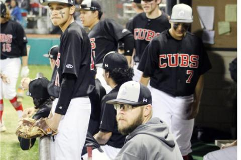 The Brownfield Cubs Varsity Baseball Team