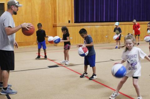 Meadow basketball camp