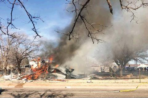House Explosion Rattles parts of Brownfield