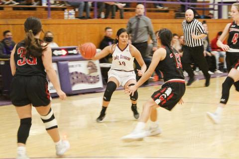 Lady Broncos fall in Bi-Distrct round of playoffs