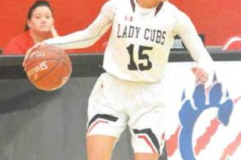 Lady Cubs notch District opener
