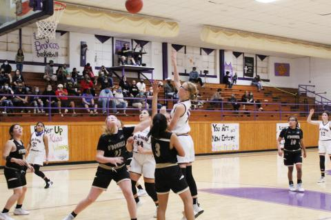 Lady Broncos fall at home to Lady Eagles