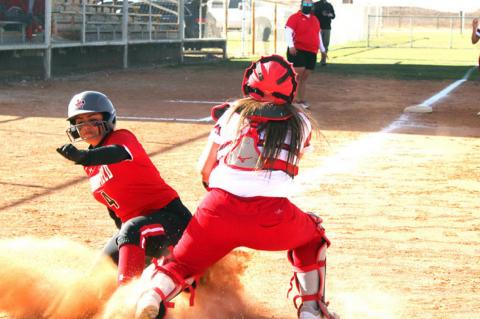 Lady Cubs open district with road win behind seven run fifth inning
