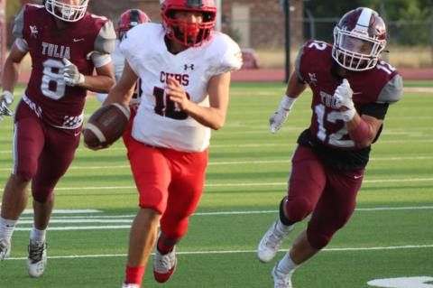 Cubs football shows inexperience in road loss to Tulia