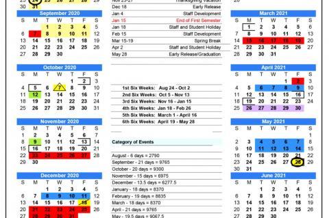 BISD Calendar Changes Again Amid COVID