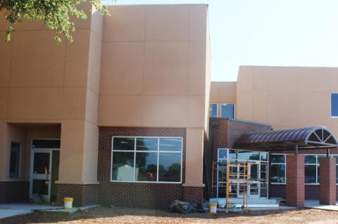 BRMC extension nears completion