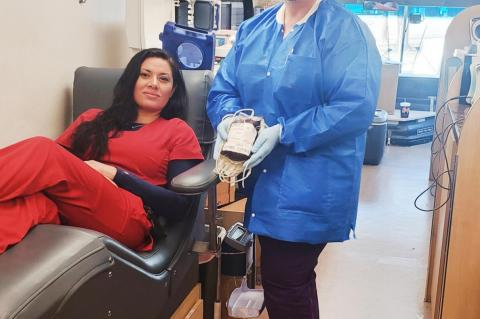 Vitalant hosted a Blood Drive at Brownfield Regional Medical Center parking lot