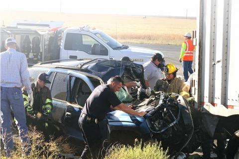 AeroCare Called Out To Auto Accident