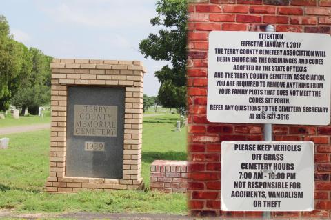 Cemetery association receives quarterly update