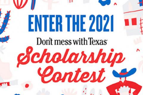 Don't mess with Texas Scholarship Contest Opens to High School Seniors