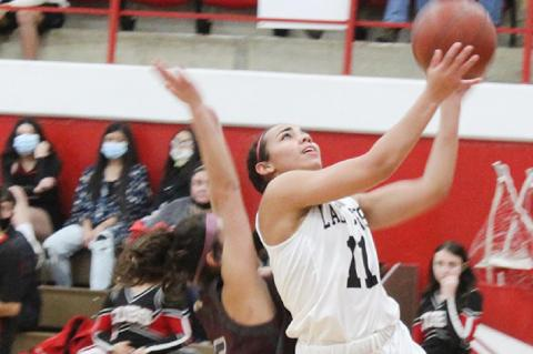 Lady Cubs remain unbeaten in district
