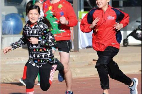 1 st Annual Downtown Reindeer Fun Run