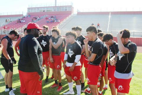 Brownfield CUBS hosts 7 on 7