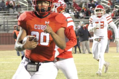 Mustangs too much for Cubs in second half