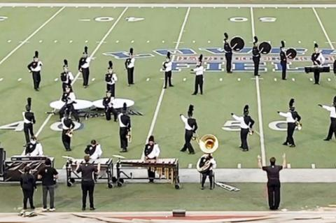 Plains High School Cowboys Band is State Bound