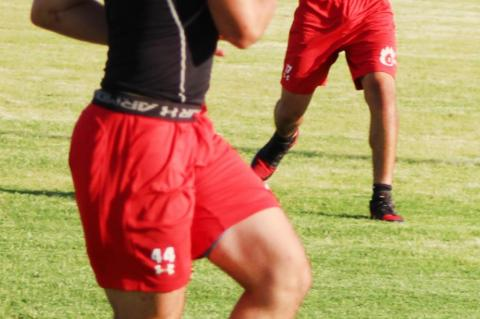 CUBS football compete at Tahoka