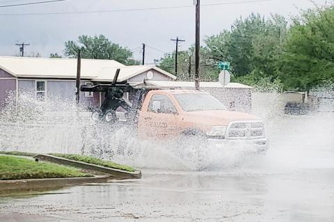 Unexpected rain does little against drought
