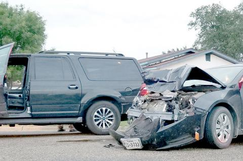 Wreck in city sends five to hospital | Brownfield News