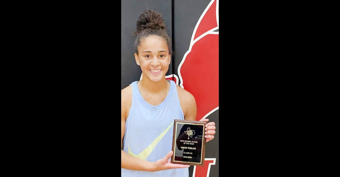 Fields Awarded TABC Class 3A Player of the Year
