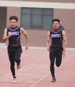 Brownfield track and field compete in Area Round